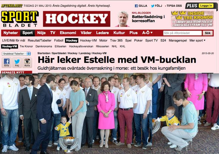 Crown Princess Victoria in a MAYLA Alexa Blouse as seen on AFTONBLADET