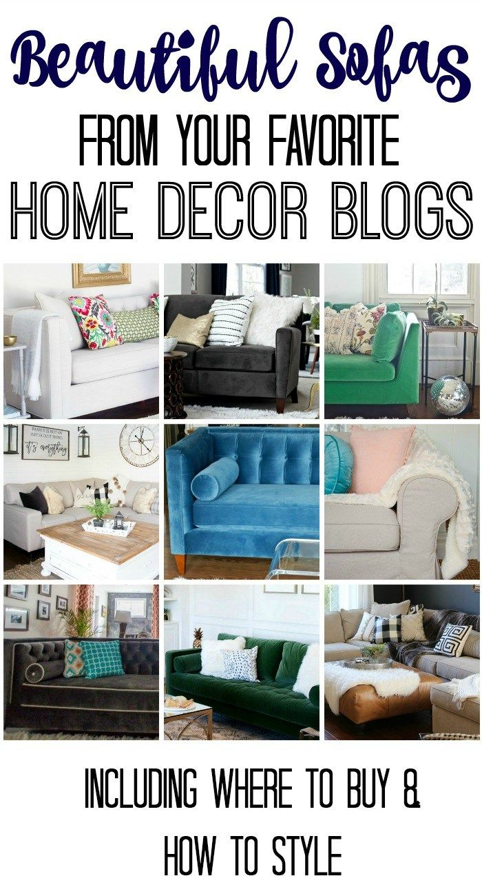 Beautiful Sofas And How To Style Them From Your Favorite Home Decor Bloggers