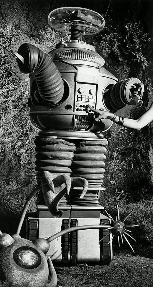 The Robot....from Lost In Space.