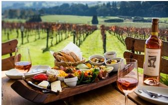 Finish off the day with a glass of wine and a platter at one the regions exquisite wineries.