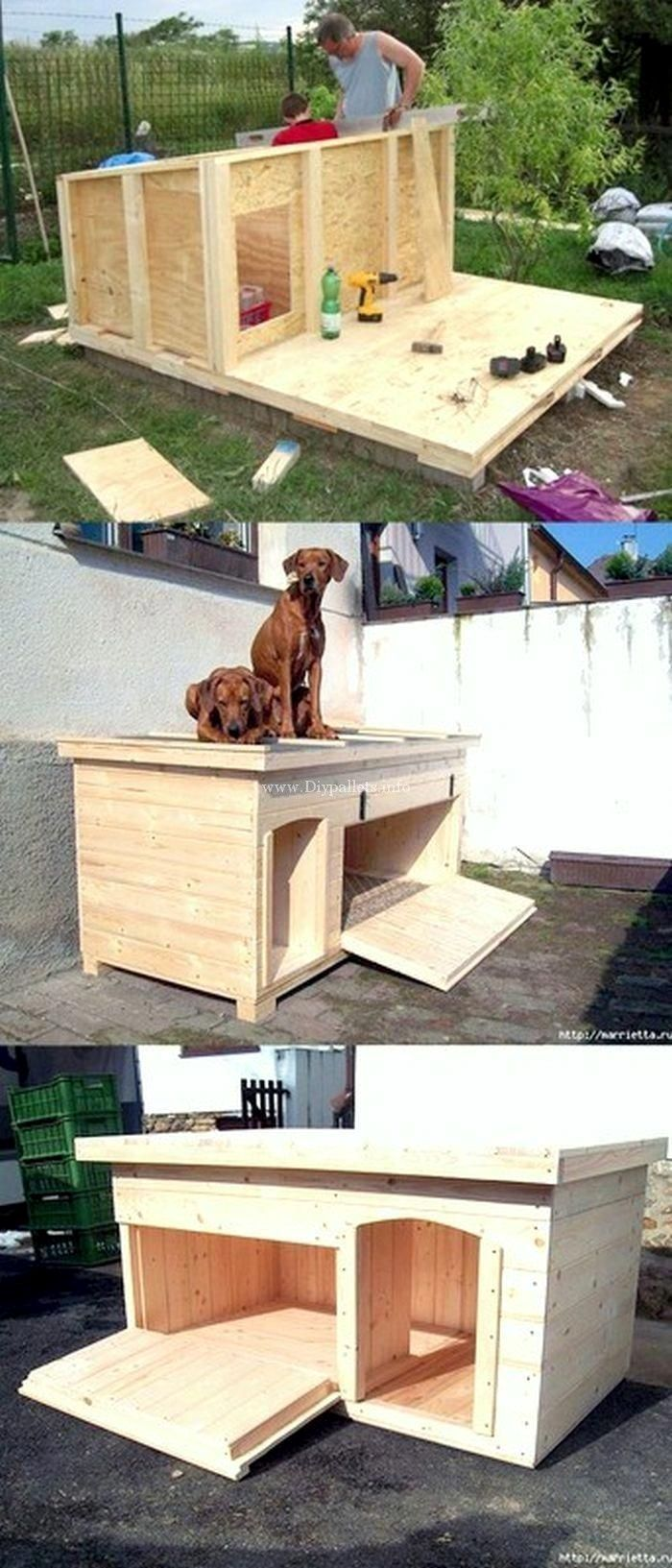 Easy And Cheap Dog Houses Dog House Diy Cheap Dog Houses Diy Dog Kennel