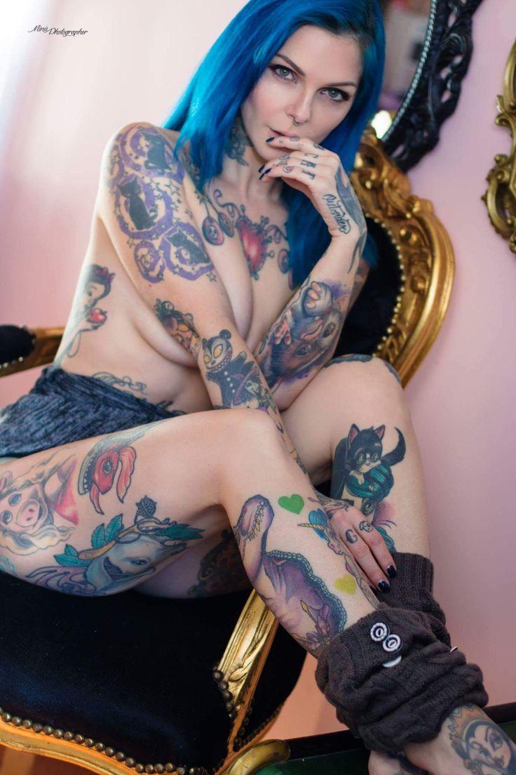 Girls ϟ Tattoos   Татуировки и девушки   VK