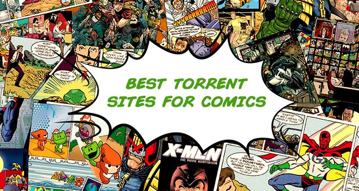 best comic book torrent sites