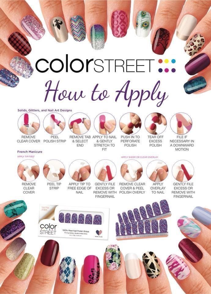 Get A Brilliant Salon Quality Manicure In Minutes With Color Street 100 Real Nail Polish