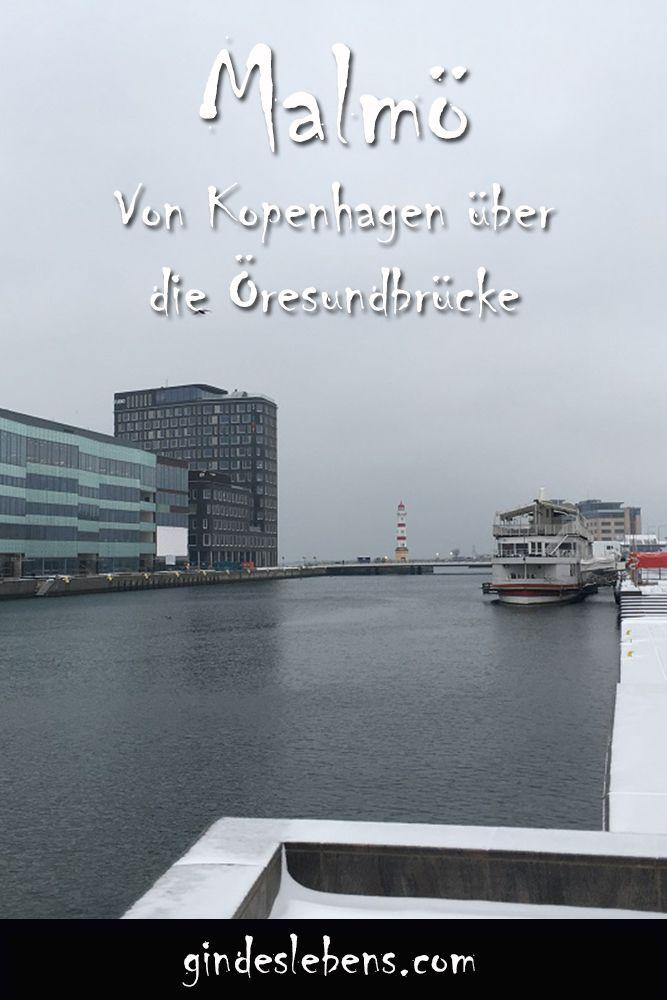 Von Kopenhagen nach Malmö über die Öresundbrücke. Für knapp € 30 pro Person gibt's ein Ticket für die Überfahrt über die Öresundbrücke, die mit 7.845m weltweit längste Schrägseilbrücke. Diese verbindet Kopenhagen und Malmö und ist eine Kombi-Brücke für Straßen- und Bahnverkehr.