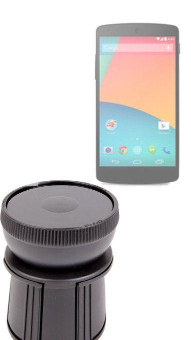 DURAGADGET Vehicle Cup Holder Phone Mount LG Google Nexus 5: Amazon.co.uk: Electronics