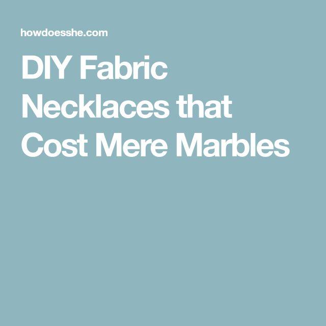 Die Besten 25+ Marble Fabric Diy Ideen Auf Pinterest | Stoff Halskette,  Marmor Halskette Und Verwendung Von Marmor