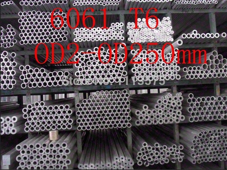 OD2-OD250mm 6061 T6 Al aluminium thick wall precision industry tube pipe