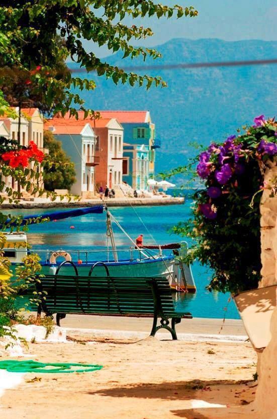 Seaside, Kastelorizo, Greece www.WrapWithCath.myitworks.com www.Facebook.com/WrapWithCC
