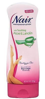 Hair Removal Creams and Sprays: Nair Hair Remover Lotion For Legs - Body Aloe - Lanolin 9 Oz (Pack Of 6) -> BUY IT NOW ONLY: $35.71 on eBay!
