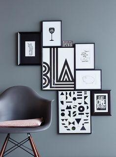 ▷ Wandfarbe Grau – Wohnen und einrichten mit der Trendfarbe