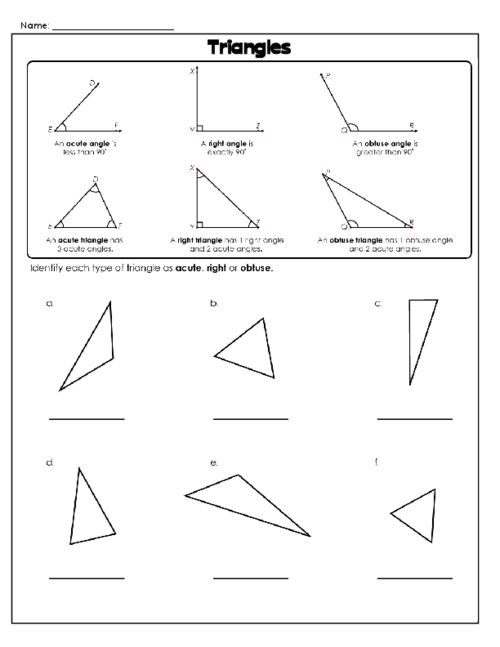 25 best ideas about different types of triangles on pinterest classifying triangles math. Black Bedroom Furniture Sets. Home Design Ideas