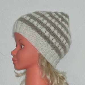 Bonnet, chapeau, en laine, enfant, fille, 4 5 6 ans, style, marin ... b6ceed9534a