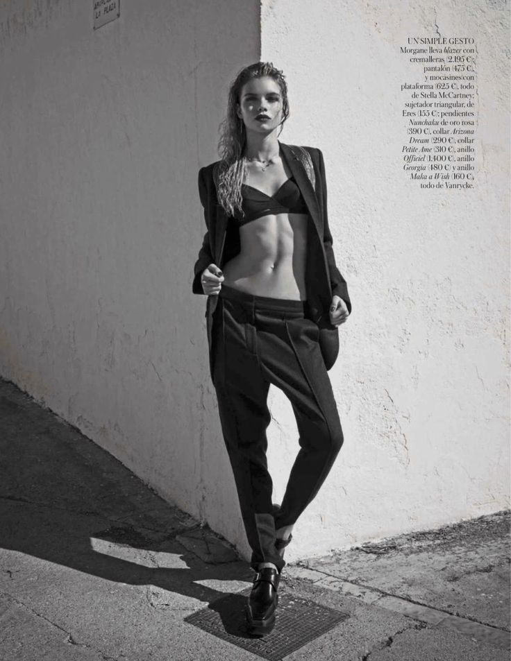 gabby westbrook-patrick, morgane warnier and stella maxwell by mariano vivanco for vogue spain august 2014