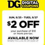 HOT $2/$10 Dollar General Digital Coupon!!!! - http://www.couponoutlaws.com/hot-210-dollar-general-digital-coupon/