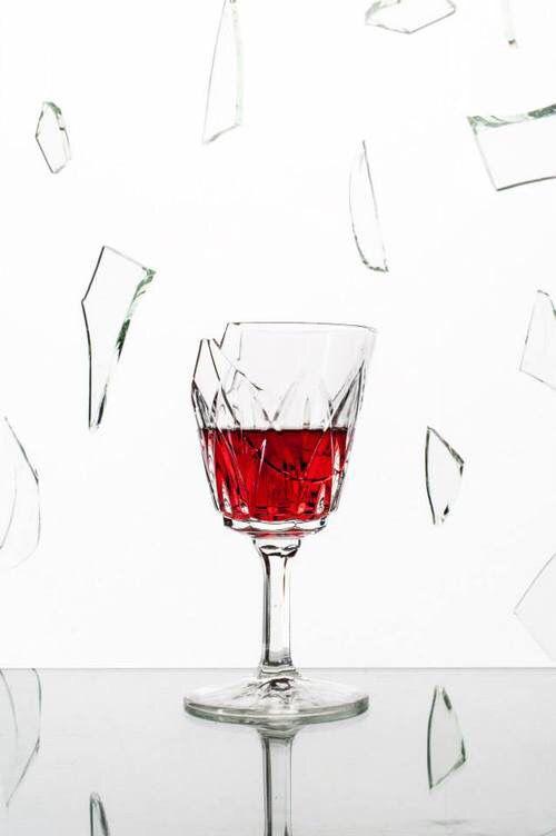 Broken Wine Glass - Rhino - 3D CAD model - GrabCAD   Broken Wine Glass Painting