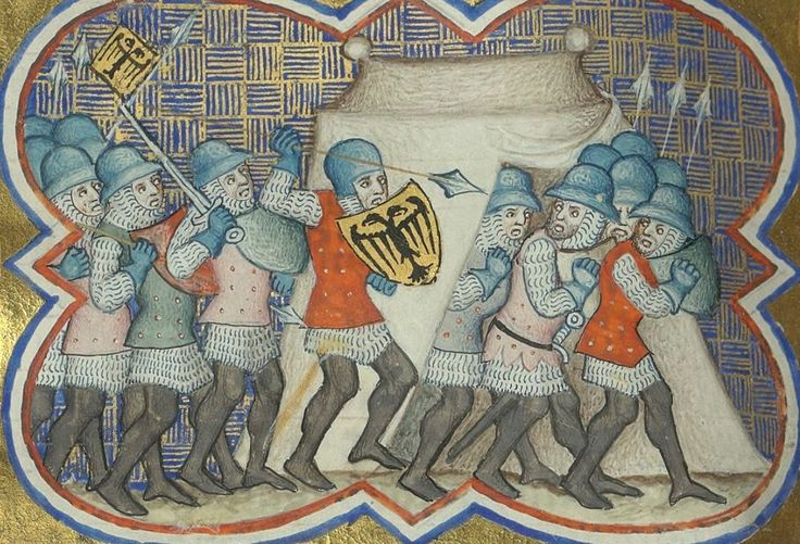 Brigandines - Bib. Ste. Genevieve MS.777 Decades, folio 372v, 1370, France