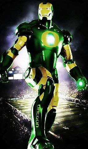 Oregon Ducks Iron Man #GoDucks #NationalBrand