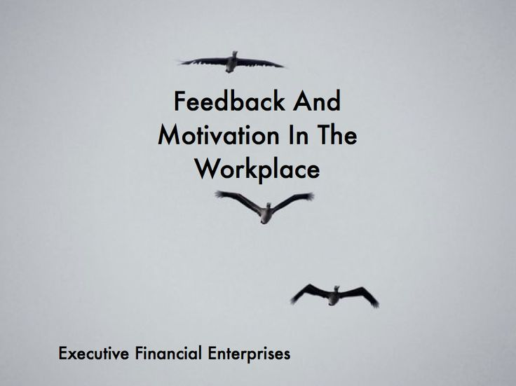 Current trends in motivation in the workplace