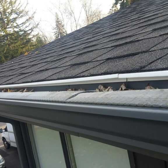 gutter protection leaf guards eavestroughs and more pinterest
