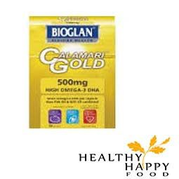 Bioglan Calamari Gold 1000mg contains 1000mg of sustainable, pharmaceutical grade Calamari Oil. Our Calamari Oil provides a more concentrated form of Omega 3 th