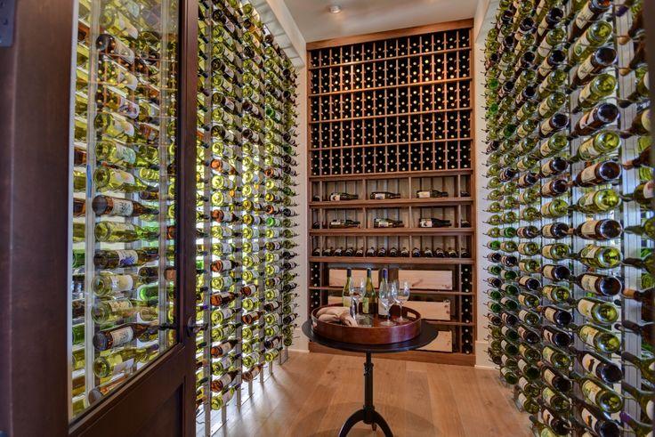 Spacious wine room in SoCal designed by @vintagecellars ... love. Wine RoomsWine CellarsCellar Doors & The 18 best The Best Modern Wine Cellar Designers | Certified ...