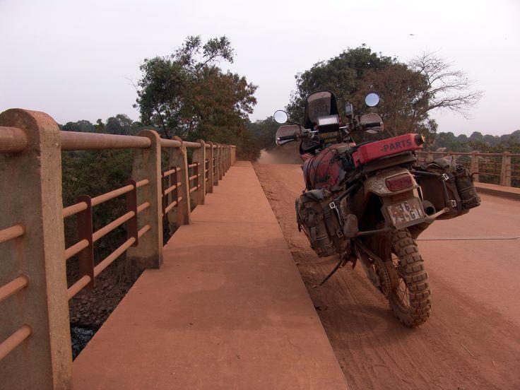 Wolfman Motorcycle Luggage's Photo contestant Gabriel Martins Honda Africa - https://www.facebook.com/WolfmanLuggage