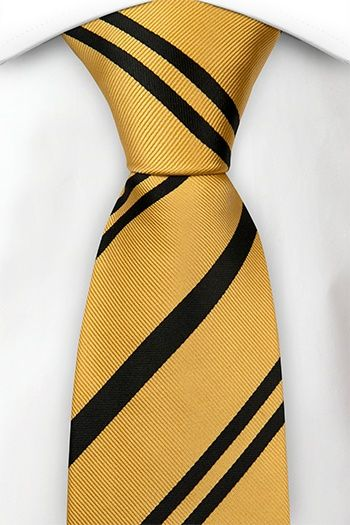 dc2947f88c9b VERNON classic tie in 2019 | Potterverse Stuff | Tie, Yellow black ...