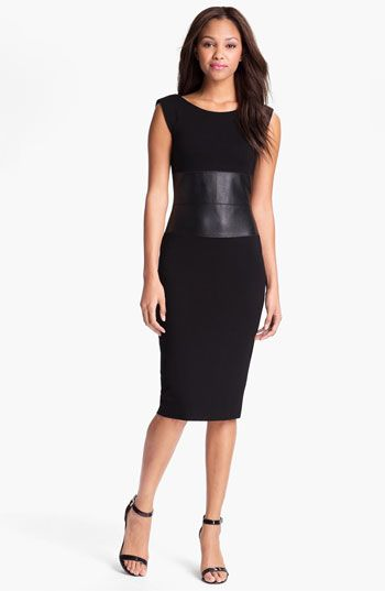 Slimming LBDs: B44 Dressed by Bailey 44 Aerodynamic Pencil Dress