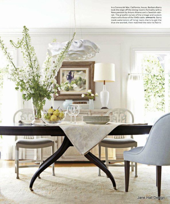 EclecticStyle Dining Room From House Bautiful
