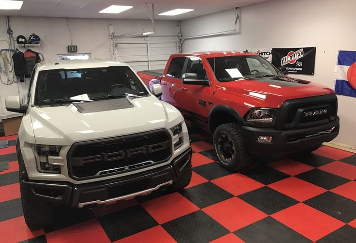 2017 Ford Raptor vs. Ram Power Wagon: For $63K, Which One Would You Buy? [Video] - The Fast Lane Truck
