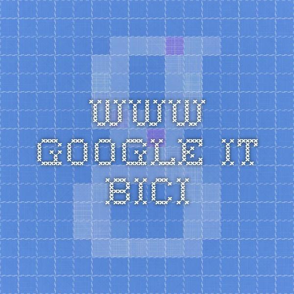 www.google.it bici