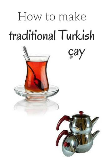 How to make traditional Turkish #tea