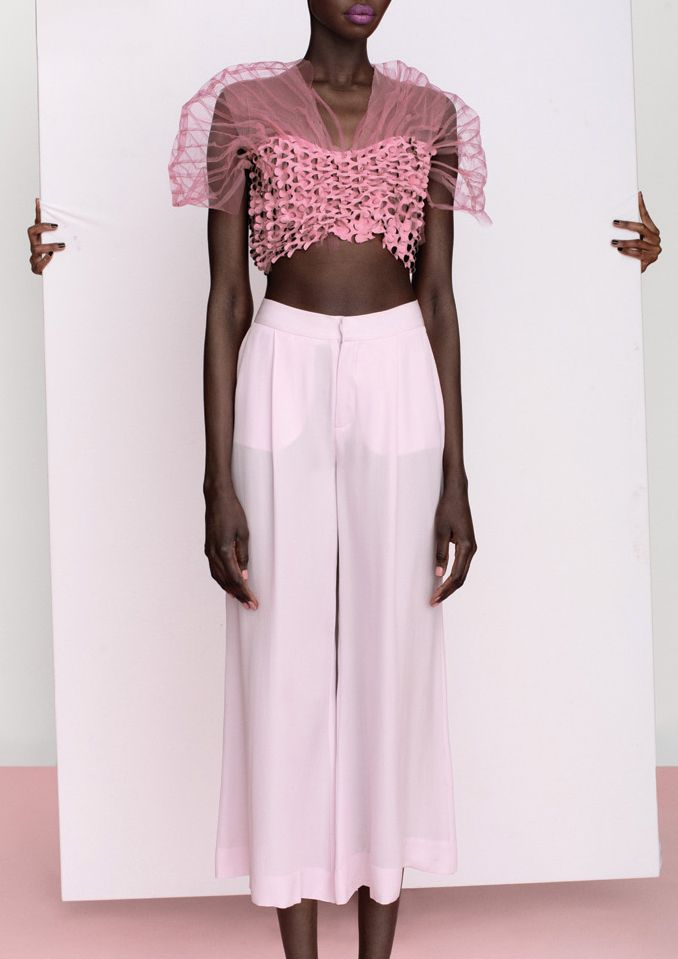 """""""Nykhor in Bloom"""". Photographed by Kasia Bielska for The Lab Magazine #7 June 2013"""