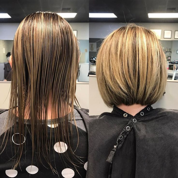 "Balayage, thin hair, haircuts for thin hair, short hair cuts, short bob haircut  80 Likes, 5 Comments - Melinda Keener | Fringe Salon (@hairbymelindak) on Instagram: ""I wish I would have taken a pic from the beginning of this appointment. My client, Janay, came in…"""