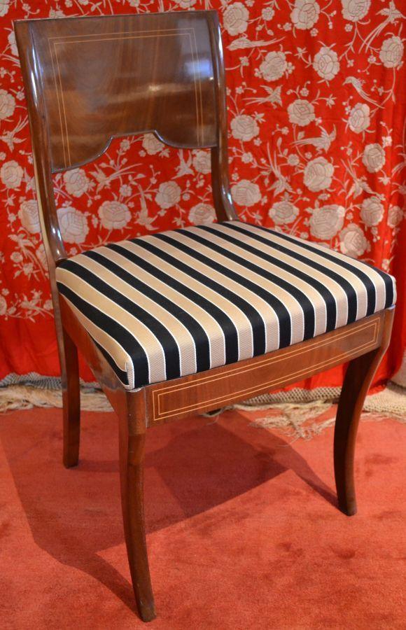 Original Antiker Biedermeier Stuhl Biedermeier Stühle