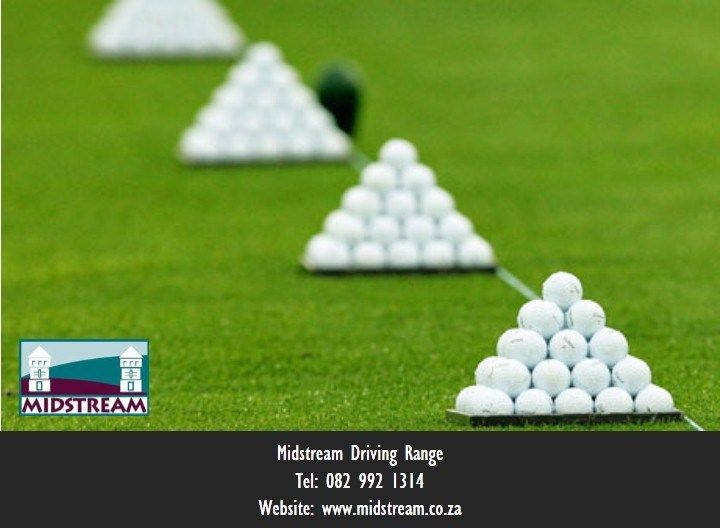 Practice your golf swing at the Midstream Driving Range at the Midfield Clubhouse in Midstream, Centurion, South Africa