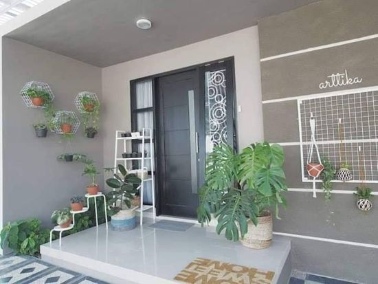 Inspirasi desain interior rumah minimalis type 70 1 lantai ...