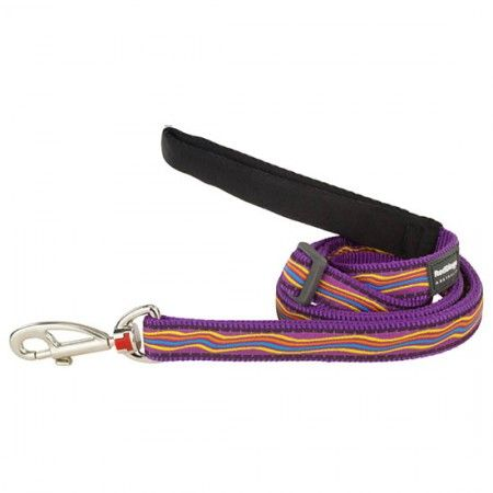 Red Dingo Dreamstream Purple dog lead 100-180 cm Medium - Red Dingo dog lead Red Dingo dog leads medium - globaldogshop.com