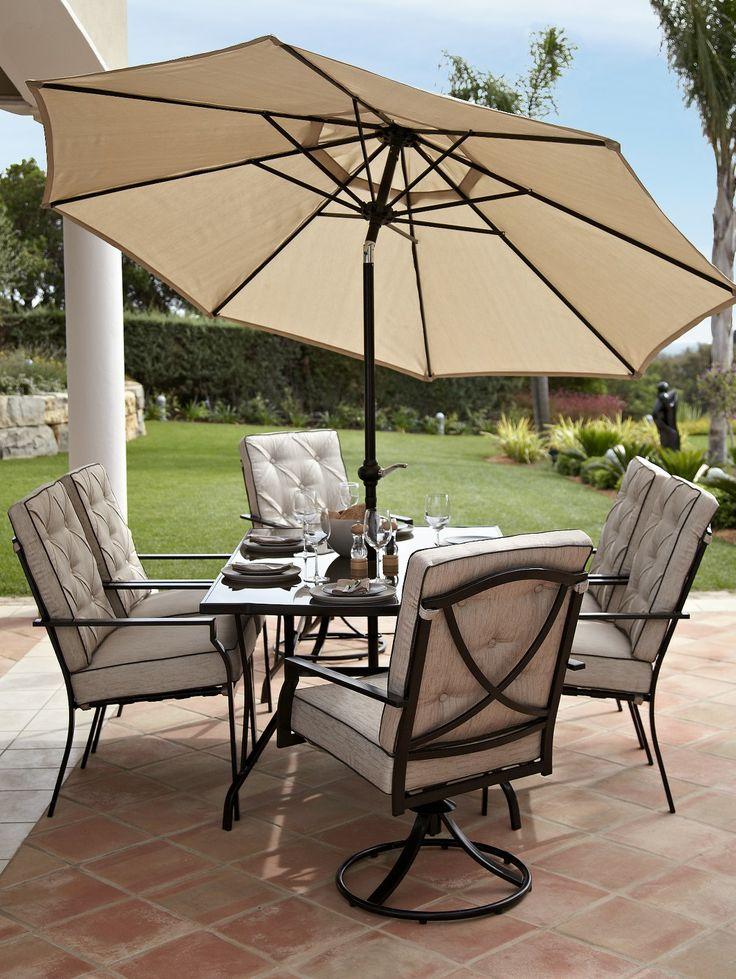 lorain 8 piece cushion dining set ismecom relax in the garden pinterest - Garden Furniture 8 Piece