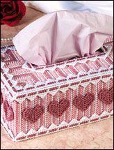 Valentine Hearts Tissue Topper