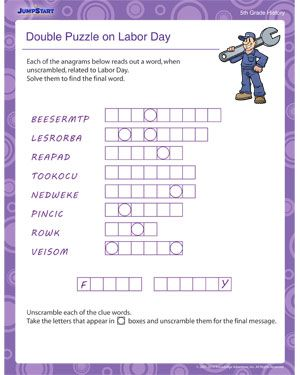 Double Puzzle on Labor Day - Download the free Labor Day ...