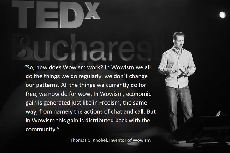 #TEDxBucharest, The new #SharingEconomy, Thomas C. Knobel, WowApp Founder