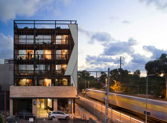 The Commons apartment building, Melbourne by Breathe Architecture. Photos Andrew Wuttke.