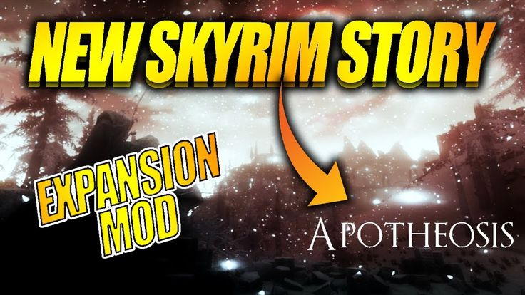 NEW SKYRIM DLC: APOTHEOSIS EXPANSION MOD! #games #Skyrim #elderscrolls #BE3 #gaming #videogames #Concours #NGC