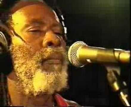 Jamaican reggae trail blazers Burning Spear - 'Slavery days'