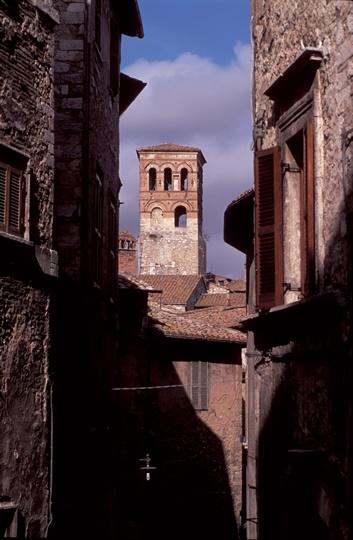 narni-campanile Narni, province of Terni , Umbria Italy