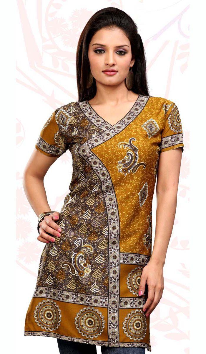 kurti | Multicolor Designer Indian Party Wear Kurti