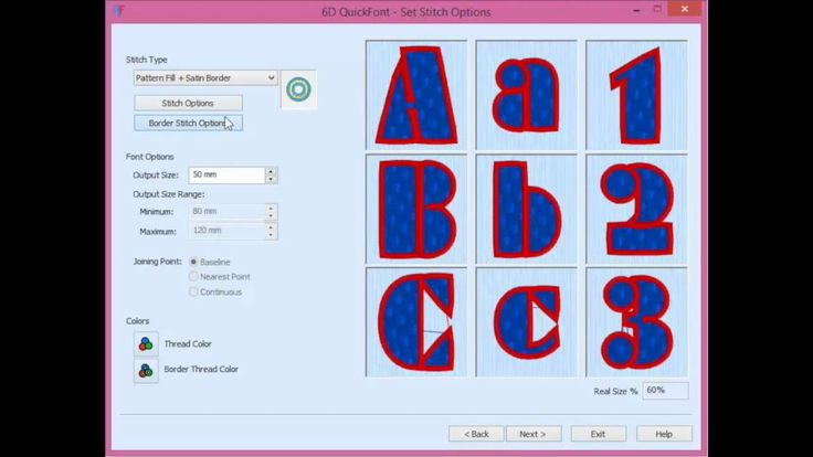 Husqvarna Viking Quick Font Software - Unlimited Fonts to Embroider for ...