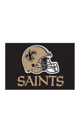 Fanmats  Nfl New Orleans Saints Starter Mat - Black - One Size